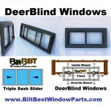 How To Make Sliding Windows For Deer Blind Huntsports