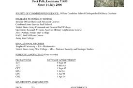 Infantry Resume Examples by Military Platoon Sergeant Resume Examples Reentrycorps