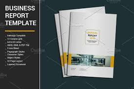annual report template word business report template brochure templates creative market