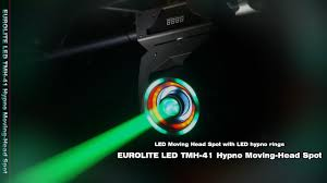 Cheap Moving Head Lights Eurolite Led Tmh 41 Hypno Moving Head Spot Youtube