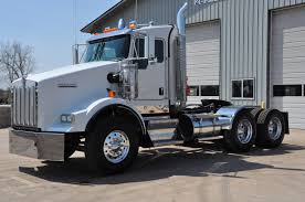2016 Kenworth T800 Day Cab White Youtube