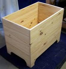 these free blanket chest plans are designed for the woodworking