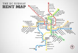 Dc Metro Map Overlay by Washington Dc Metro Rent Map Thrillist