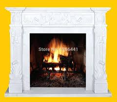 fireplace surrounds home depot ideas with tv style marble mantel