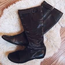 womens shearling boots size 11 s born shoes the knee boots on poshmark