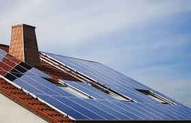 solar power this site tells you how much power you d get from solar panels on