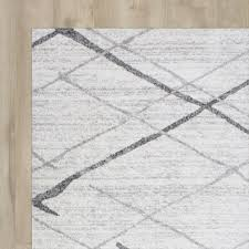 Circo Rugs White And Grey Area Rug Roselawnlutheran