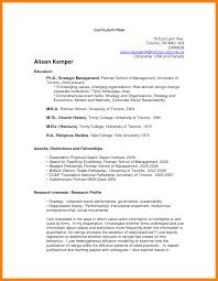 Academic Resume Template 7 Academic Curriculum Vitae Sample Time Table Chart