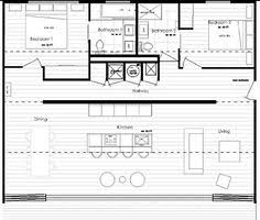 Unique Floor Plans For Houses Long Narrow House With Possible Open Floor Plan For The Home