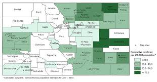 Colorado Population Map by Characterization Of Culex Pipiens Complex Diptera Culicidae