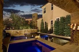 creative landscape design for swimming pools