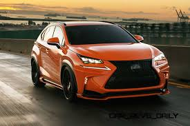 lexus nx 300h f sport 2015 luxury is coming to the small suv crossover segment with the lexus