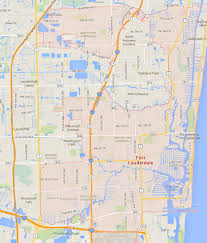 Boynton Beach Florida Map by Fort Lauderdale Florida Map