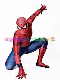 civil war spiderman costume 3d shade spandex fullbody halloween