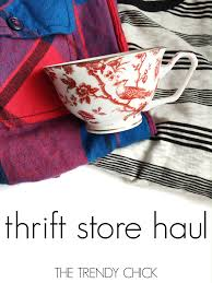 trendy thrift haul j crew home decor u0026 flannel