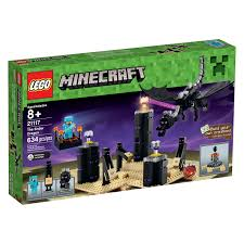 lego minecraft ender dragon 21117