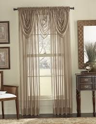 Sheer Curtains With Valance Sheer Curtain Valance Ideas Home Design Ideas