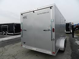 V Nose Enclosed Trailer Cabinets by Atc 7 X 16 Enclosed Cargo Trailer V Nose Aluminum Trailer
