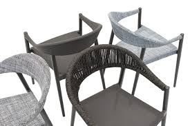 Contract Outdoor Furniture Contemporary Chair Aluminum Contract Outdoor Clever 2295