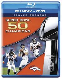 amazon com nfl super bowl 50 champions denver broncos blu ray