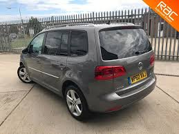 volkswagen grey used grey vw touran for sale essex