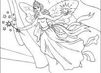 printable fairy coloring pages wallpaper download
