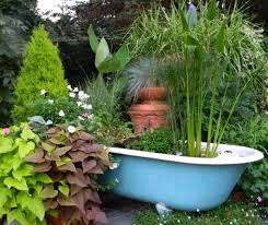 Cool Planters Bathroom Appealing Bathtub Planters 31 Best Images About Garden