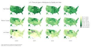 Medical Marijuana Legal States Map by 24 Maps And Charts That Explain Marijuana Vox