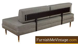 Modern Daybed Sofa Restored Mid Century Modern Daybed Sofa Furnish Me Vintage