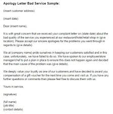 examples of customer service letters of complaint miller u0027s