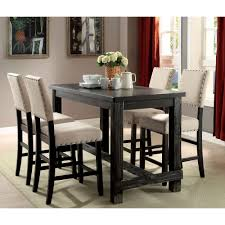 Counter Height Dining Room Table Furniture Of America Sania Ii Counter Height Diningroom Set In