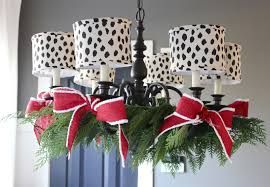 how to decorate your home for christmas the yellow cape cod how to decorate your chandelier for christmas