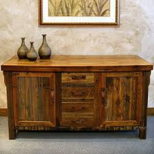 Rustic Buffet Tables by Rustic Sideboard Dining Room Pinterest Rustic Sideboard