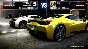 galaxy ferrari ferrari 458 speciale csr racing 2 youtube