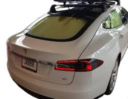 tesla outside tesla model s heatshield u2013 custom gold series sunshade