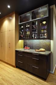 Wine Glass Storage Cabinet by Wine Glass Cabinet With Aluminum Doors Kitchen Contemporary And