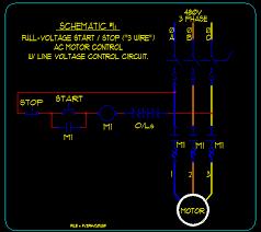 motor control wiring schematics wiring diagram simonand