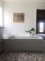 Raising Bathroom Vanity Height Lake House Master Bathroom Before U0026 After