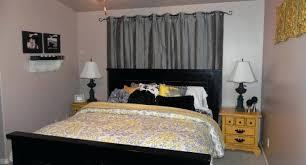 grey yellow and black bedroom mustard black cream and gray bedroom
