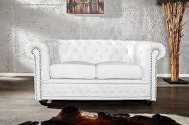 canapé chesterfield cuir blanc canapé chesterfield cuir blanc recherche meubles design