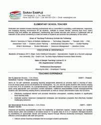 New Teacher Resume Examples Download Teaching Resume Examples Haadyaooverbayresort Com