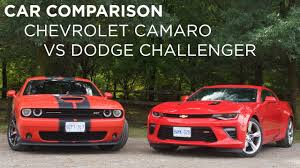 whats better a camaro or challenger car comparison chevrolet camaro vs dodge challenger driving ca