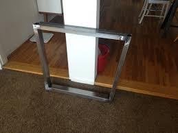 stainless steel dining room table legs u2022 dining room tables ideas