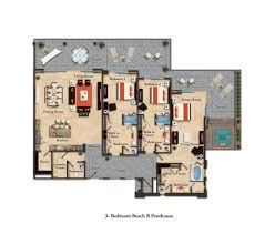 suite layouts garza blanca residence club