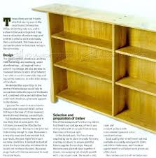 Furniture Plans Bookcase by Simple Bookcase Plans U2022 Woodarchivist