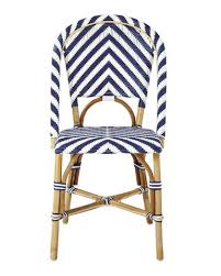 Navy Bistro Chairs Bistro Rustic Charm Interiors