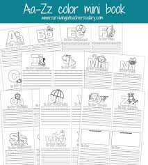 thanksgiving pictures to color and print free aa zz alphabet letter mini color book practice printable