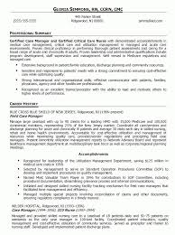 patient care manager resume resume cv cover letter