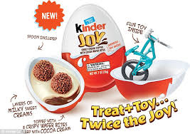 Where To Buy Chocolate Eggs With Toys Inside Kinder Eggs Are Set For Us Release In January 2018 Daily Mail Online