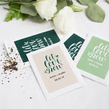 personalized seed packets personalized wedding favor seed packets
